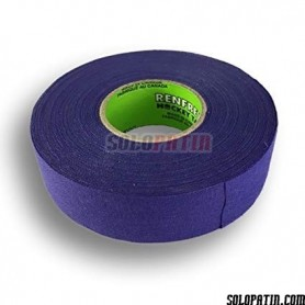 Purple Ribbon Tape Hockey Sticks