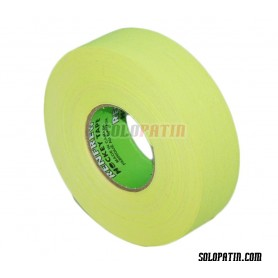 Fluor Yellow Ribbon Tape Hockey Sticks