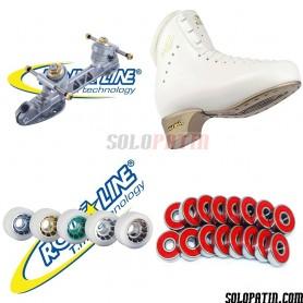 Edea CLASSICA + Roll-line DANCE + ICE + ABEC 7