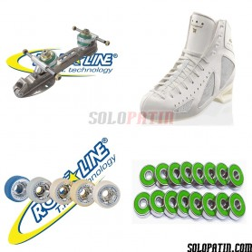 Risport MERCURIO + Roll-line MATRIX Steel + GIOTTO + ABEC 9
