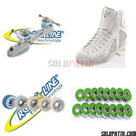 Risport MERCURIO + Roll-line ENERGY Steel + GIOTTO + ABEC 9