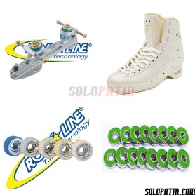 Risport AMBRA ELITE + Roll-line ENERGY Steel + GIOTTO + ABEC 9