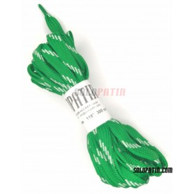 Hockey Solopatin Green Pair of Laces
