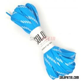 Par de cordones Hockey Solopatin Azul cielo