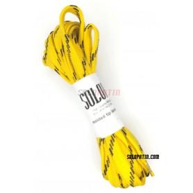 Rollhockey Solopatin Paar Schnürsenkel Gelb