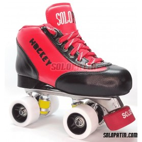 Patins Complets Solopatin Best aluminium Rouge