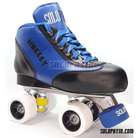 Conjunto Patines Hockey Solopatin Best Aluminio Azul