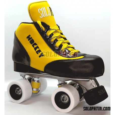 Pattini Hockey Solopatin Best Alluminio Giallo