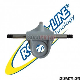 Pont Complet / Truck Axe Roues Avec Pivot Platines Roll Line MIRAGE II