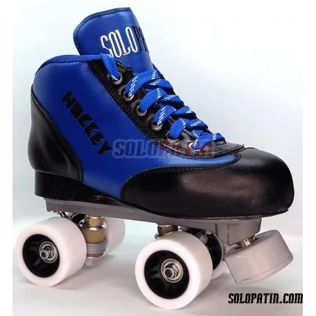 Hockey Roller Set Solopatin BEST BLUE Roll line MIRAGE 2 SPEED Wheels