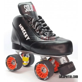 Hockey Solopatin BLACK BEST Aluminium Roll line CENTURION Wheels