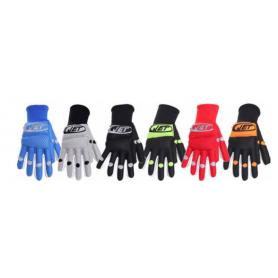 Hockey Gloves JET ROLLER REFLEX BLACK / ORANGE