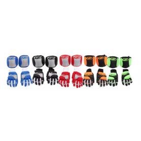 Pack Hockey JET ROLLER ECONOMIC 2 Pieces BLACK / ORANGE FLUOR