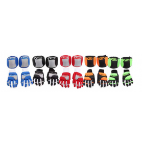 Pack Hockey JET ROLLER ECONOMIC 2 Pieces BLACK / GREEN FLUOR