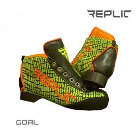 Chaussures Hockey Replic GOAL Jaune Fluor