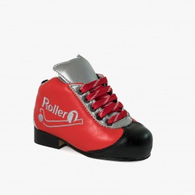 Botas Hockey Roller One Kid Rojo / Plata