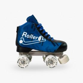 Patins Completos Hóquei Roller One Flash Azul