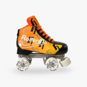 Pattini Hockey Roller One Flash Arancione