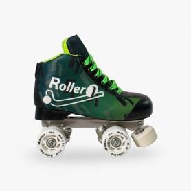 Patins Completos Hóquei Roller One Flash Verde