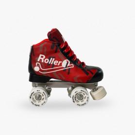Pattini Hockey Roller One Flash Rosso