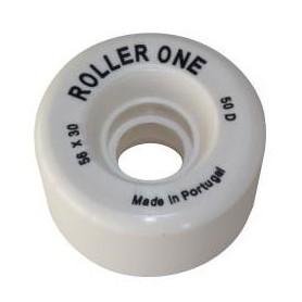 Rollhockey Rollen Roller One Kid Weiss