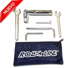 Super Professional 7 Tools Kit Roll-Line