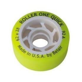 Rodas Hóquei Roller One Quick Amarela 92A