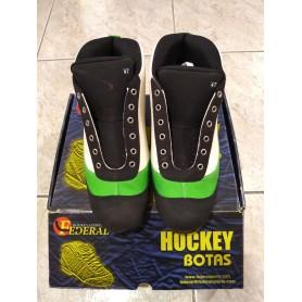Chaussures Hockey Federal Twister Vert / Blanc nº47