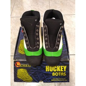 Hockey Boots Federal Twister Green / White nº47
