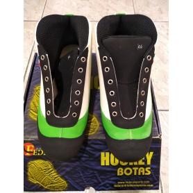 Scarpa Hockey Federal Twister Verde / Bianco nº46