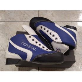 Botas Hockey Federal ECO Azul / Blanco nº40