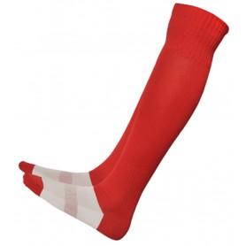 Red Basic Hockey Socks