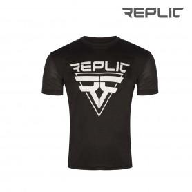 Camiseta Entrenamiento Hockey Replic Negra