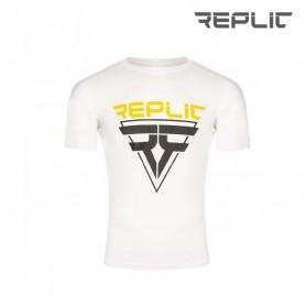 Rollhockey Ausbildung T-Shirt Replic Weiss