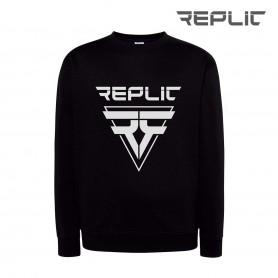 Replic Black sport sweatshirt for hockey player