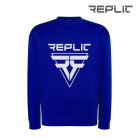 Replic Blue sport sweatshirt for hockey player