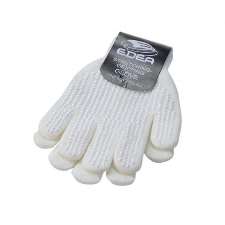 Skating Gripping Gloves Edea White
