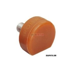 Roller Derby Toe Stops Roll-Line Super Professional Natural - Amber Round AMERICAN THREAD