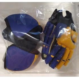 Pack Hockey Revertec 2 Pezzi Blu / Giallo