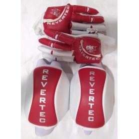 Pack Hockey Revertec 2 Pezzi Rosso / Bianco