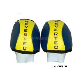 Hockey Knee Pads Revertec Eco Yellow/Black