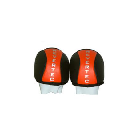 Rollhockey Knieschoner Revertec Schwarz / Orange