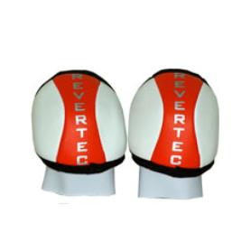 Ginocchiere Hockey Revertec Bianco / Arancione