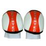 Rodilleras Hockey Revertec Blanco / Naranja