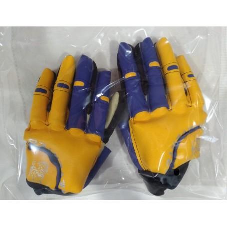 Revertec Hockey Gloves Blue / Yellow