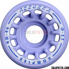 Artistic Skating Wheels Komplex Azzurra HD46