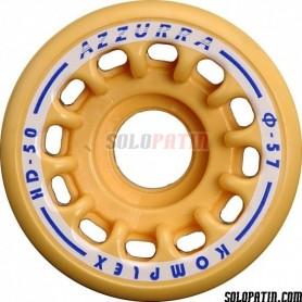 Artistic Skating Wheels Komplex Azzurra HD48