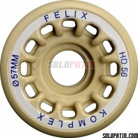 Artistic Skating Wheels Komplex Felix HD56
