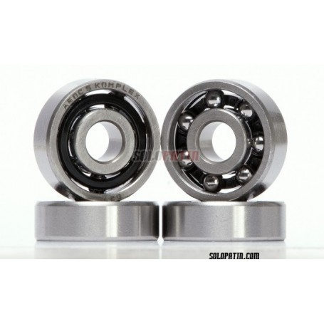 Skate Bearings Komplex Black Carbon