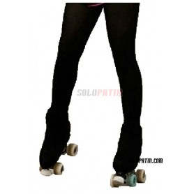 Skating Tights Overboot Black
